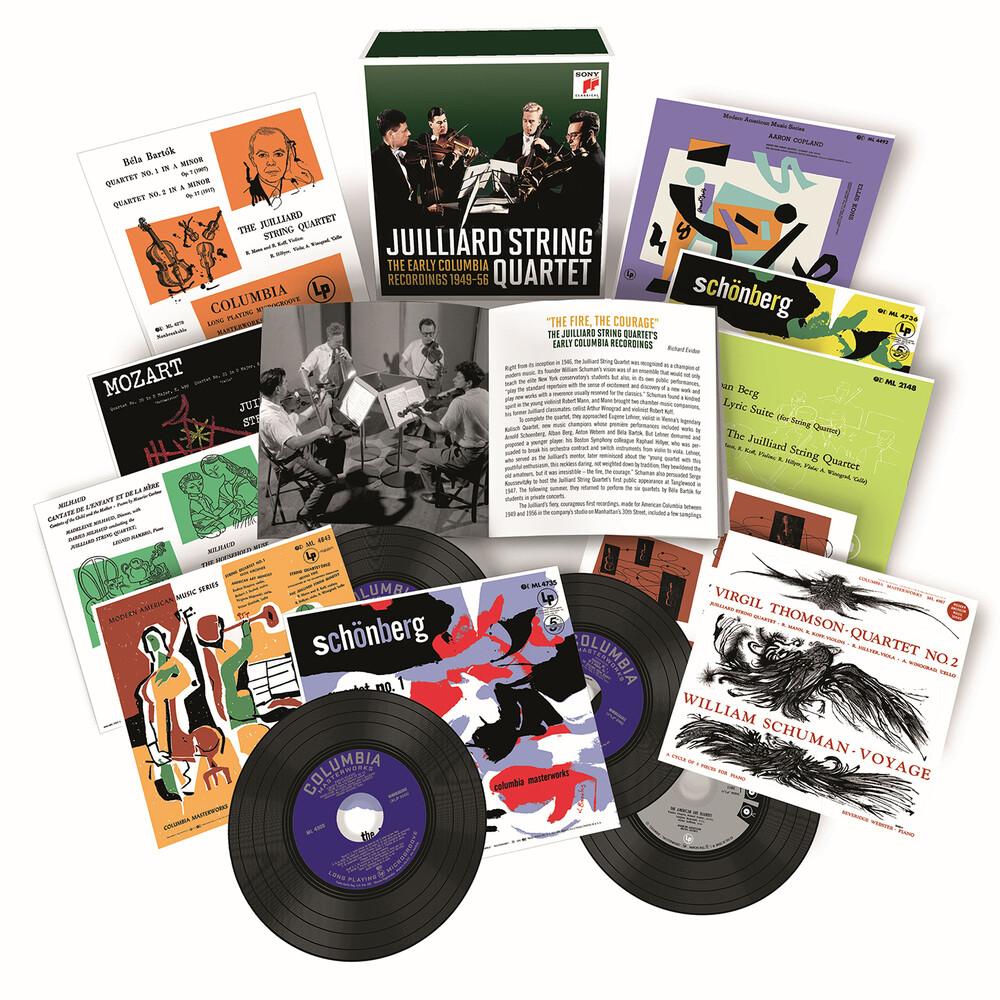 Juilliard String Quartet - Early Columbia Recordings (Uk)