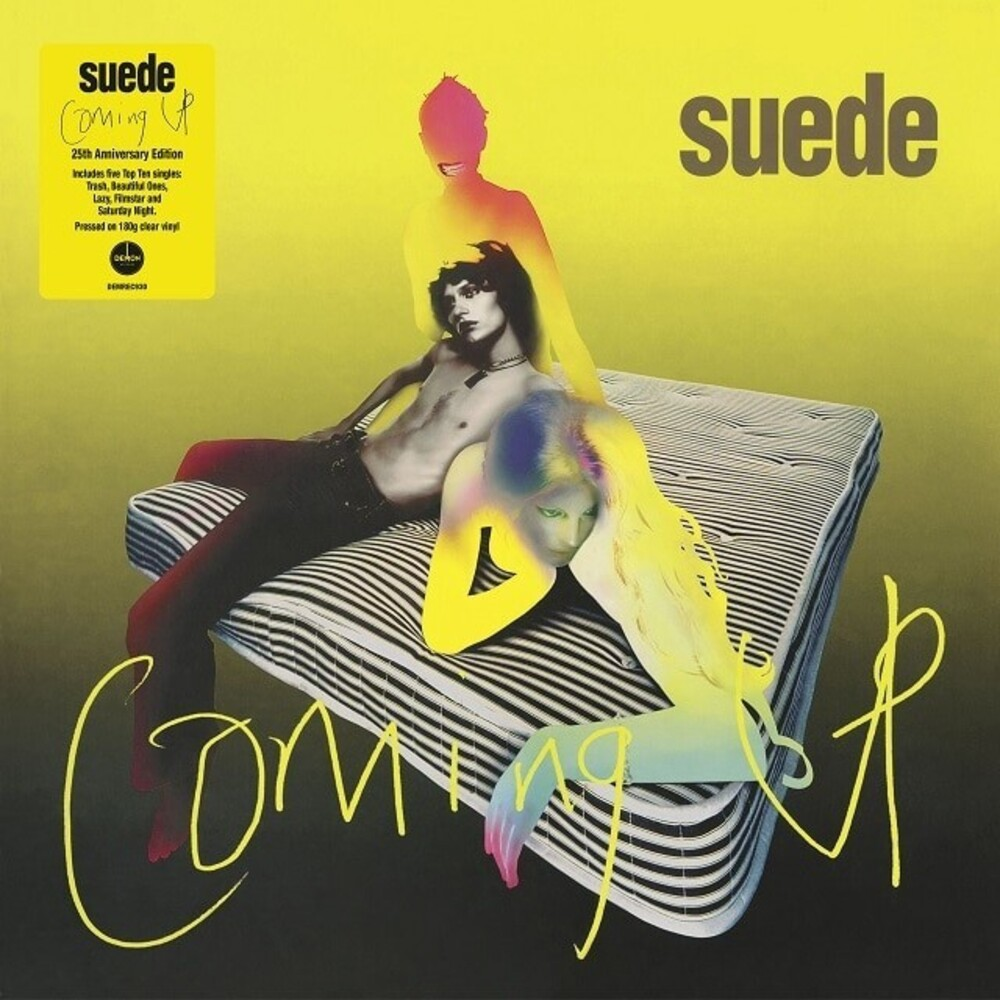 Suede - Coming Up: 25th Anniversary Edition [Clear Vinyl] [180 Gram]