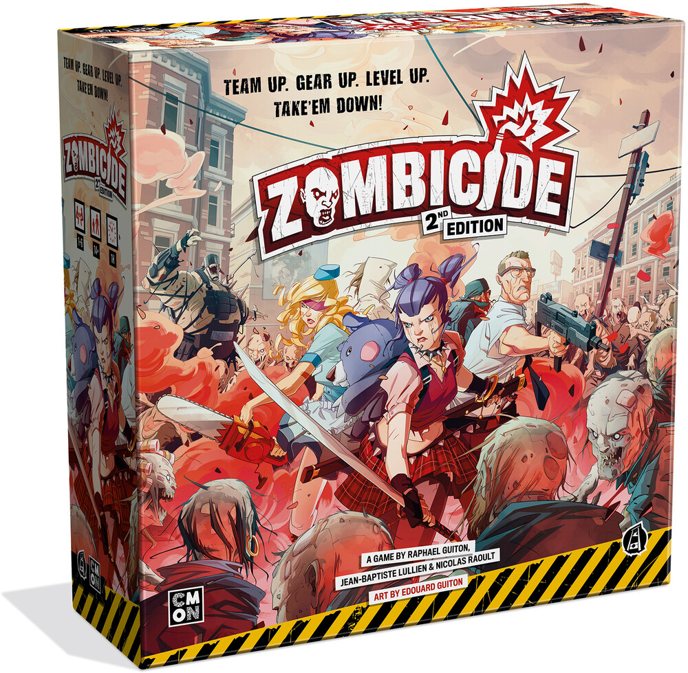 Zombicide 2nd Edition - Zombicide 2nd Edition (Crdg) (Ttop) (Wbdg)