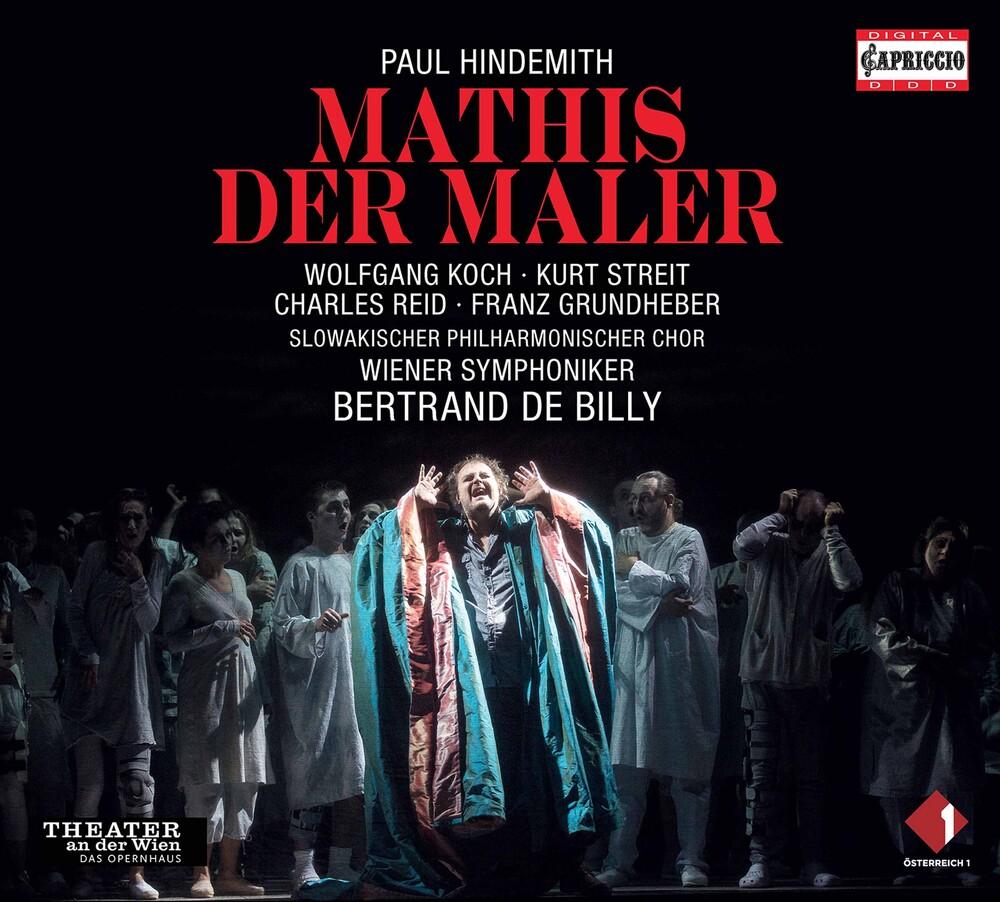 Hindemith / Wiener Symphoniker / Billy - Mathis Der Maler (3pk)