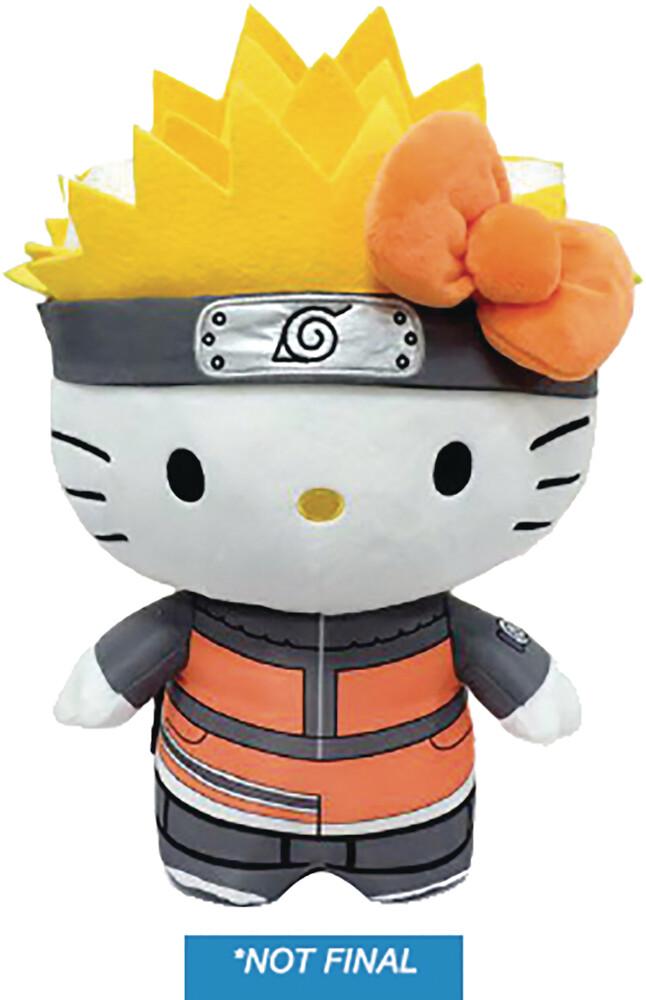 - Naruto X Hello Kitty 13 Plush Naruto