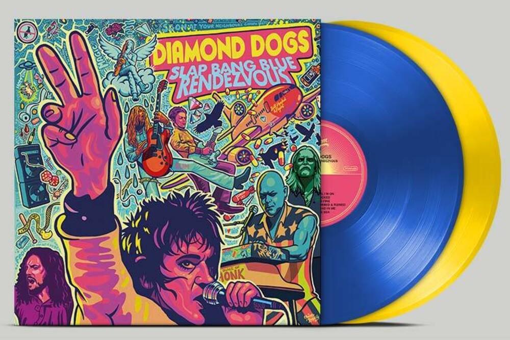 Diamond Dogs - Slap Bang Blue Rendezvous (Blue Yellow Vinyl)