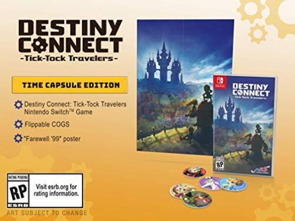 - Destiny Connect: Tick-Tock Trvlrs [Limited Edition]