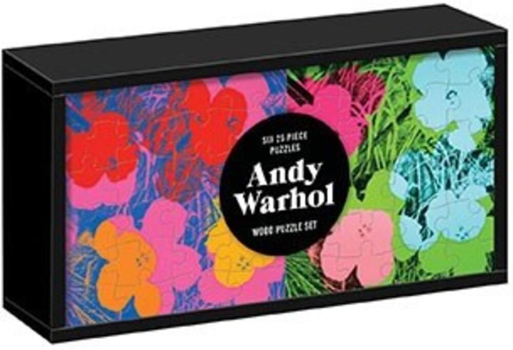 - Andy Warhol Wood Puzzle Set