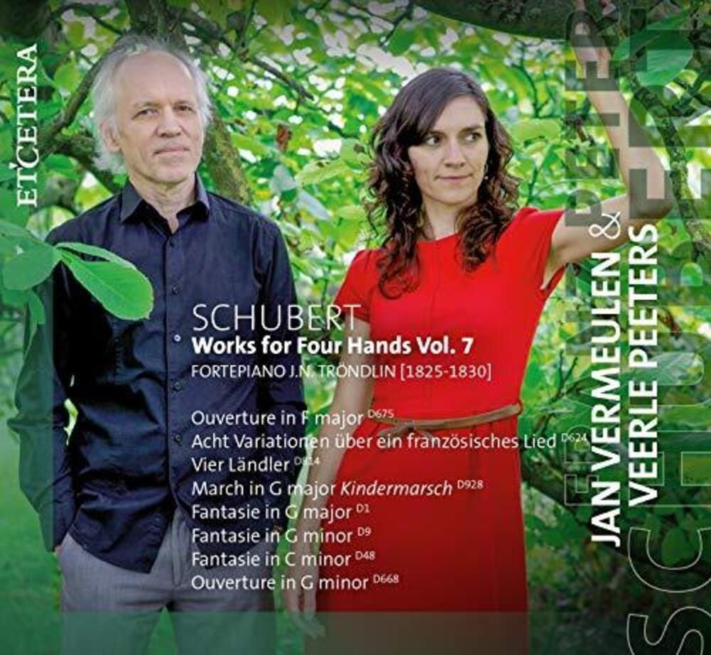 Jan Vermeulen / Peeters,Veerle - Schubert Works For Four Hands Vol. 7