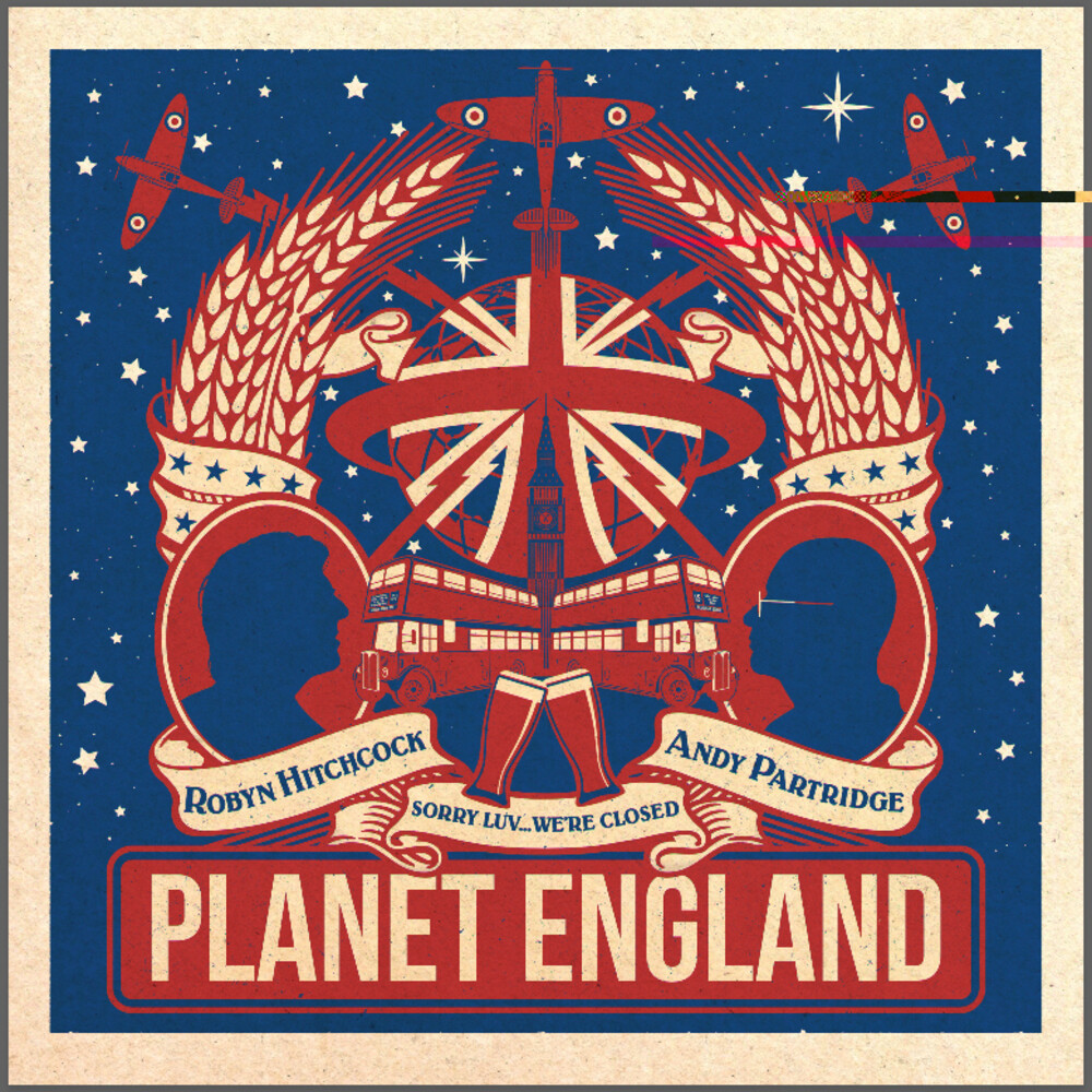 Robyn Hitchcock / Andy Partridge - Planet England EP