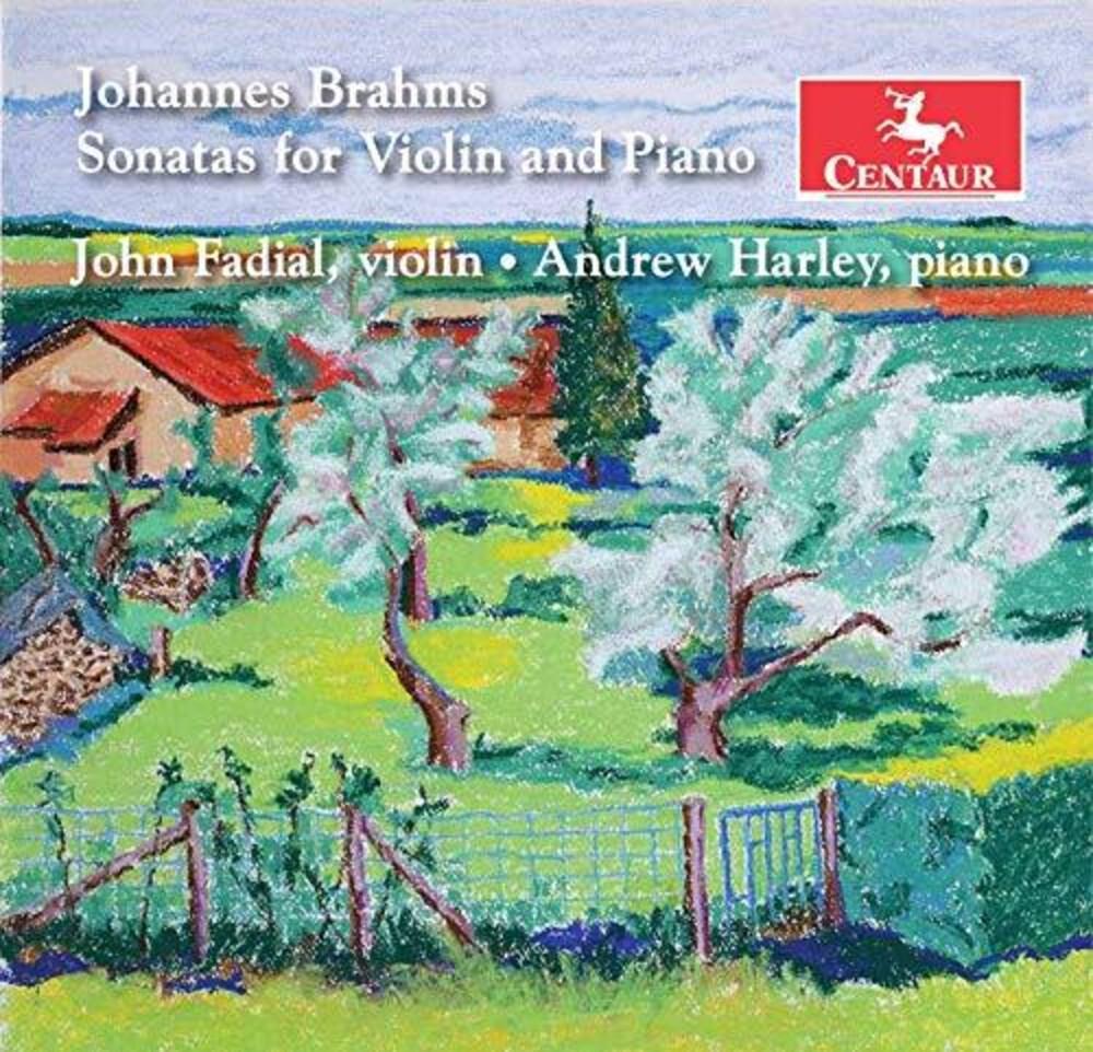 Brahms / Fadial / Harley - Sonatas For Violin & Piano