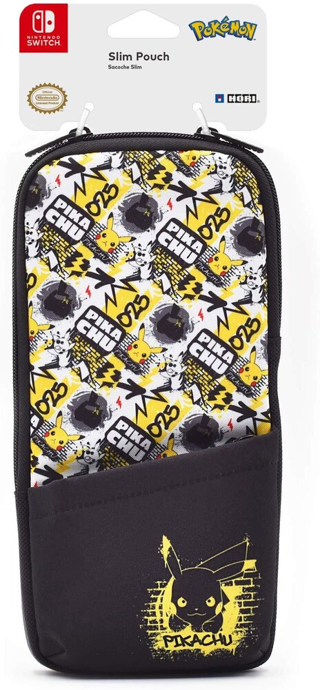- HORI Slim Pouch for - Pikachu Edition for Nintendo Switch