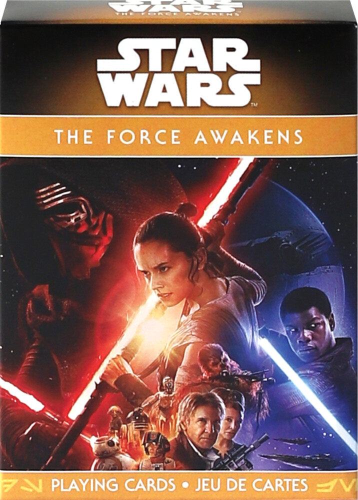 - Star Wars Episode 7 The Force Awakens Playing Cards
