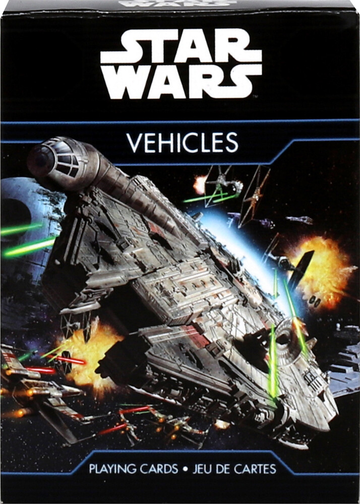 Star Wars Vehicles Playing Cards Deck - Star Wars Vehicles Playing Cards Deck