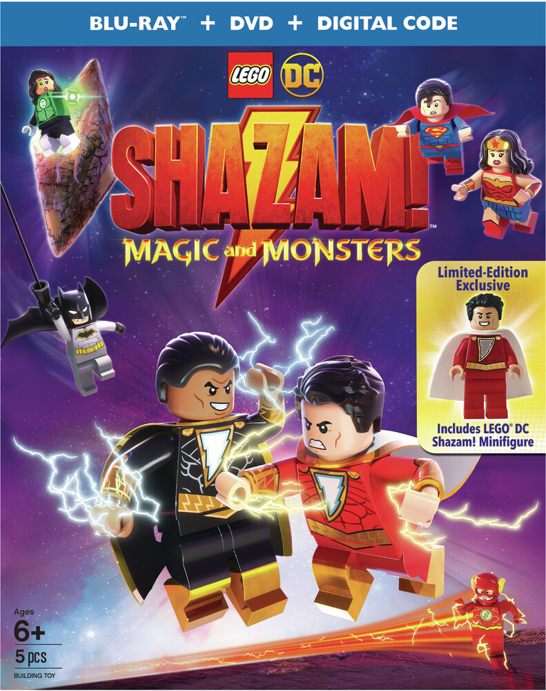 - Lego Dc Shazam: Magic & Monsters (2pc) (W/Dvd)