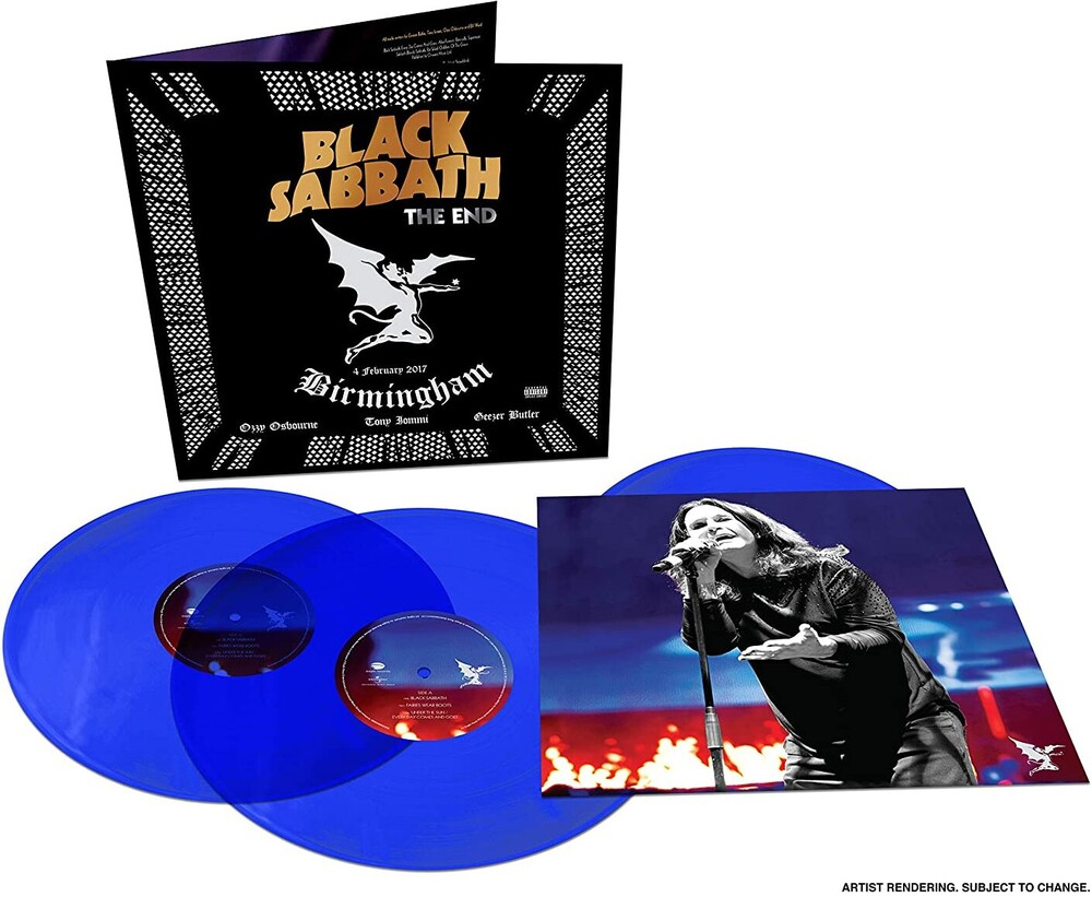 Black Sabbath - The End [Limited Edition Blue 3LP]