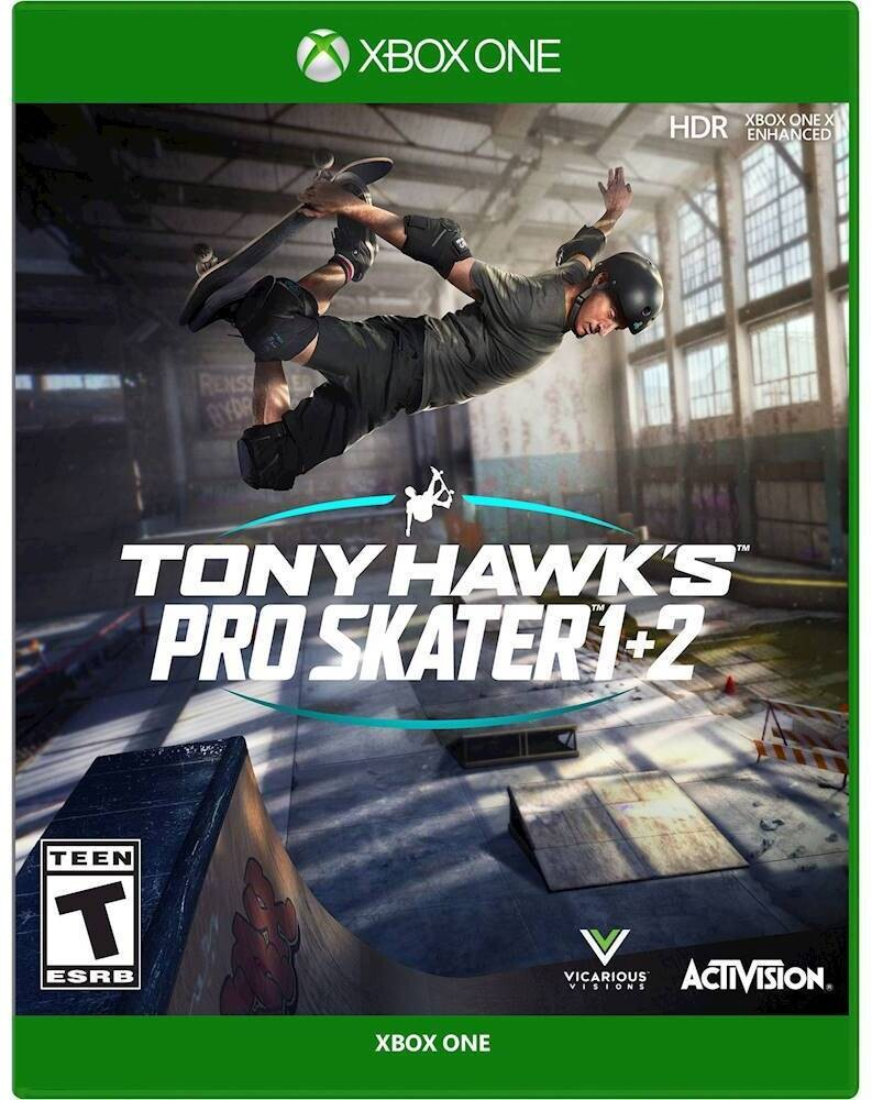 Xb1 Tony Hawk Pro Skater 1+2 - Tony Hawk Pro Skater 1 + 2 for Xbox One