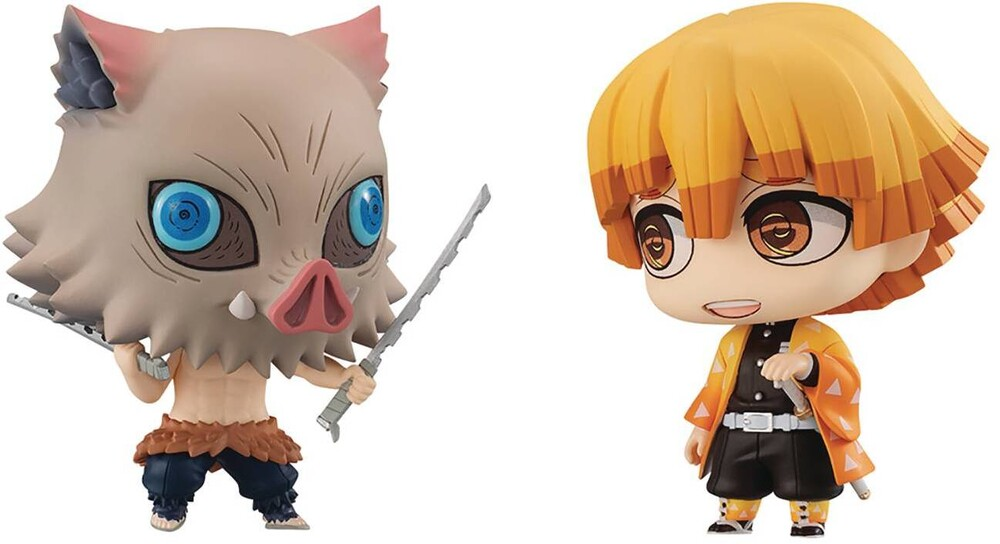 Megahouse - Megahouse - Demon Slayer Chimimega Buddy Ser Zenitsu & Inosuke 2pc Set