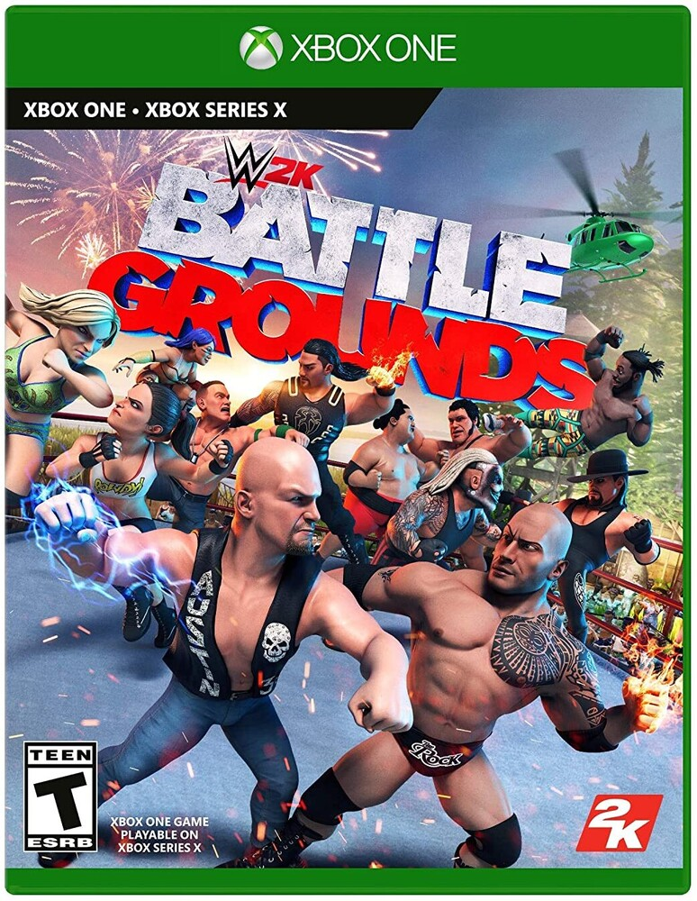 Xb1 WWE 2K Battlegrounds - Xb1 Wwe 2k Battlegrounds