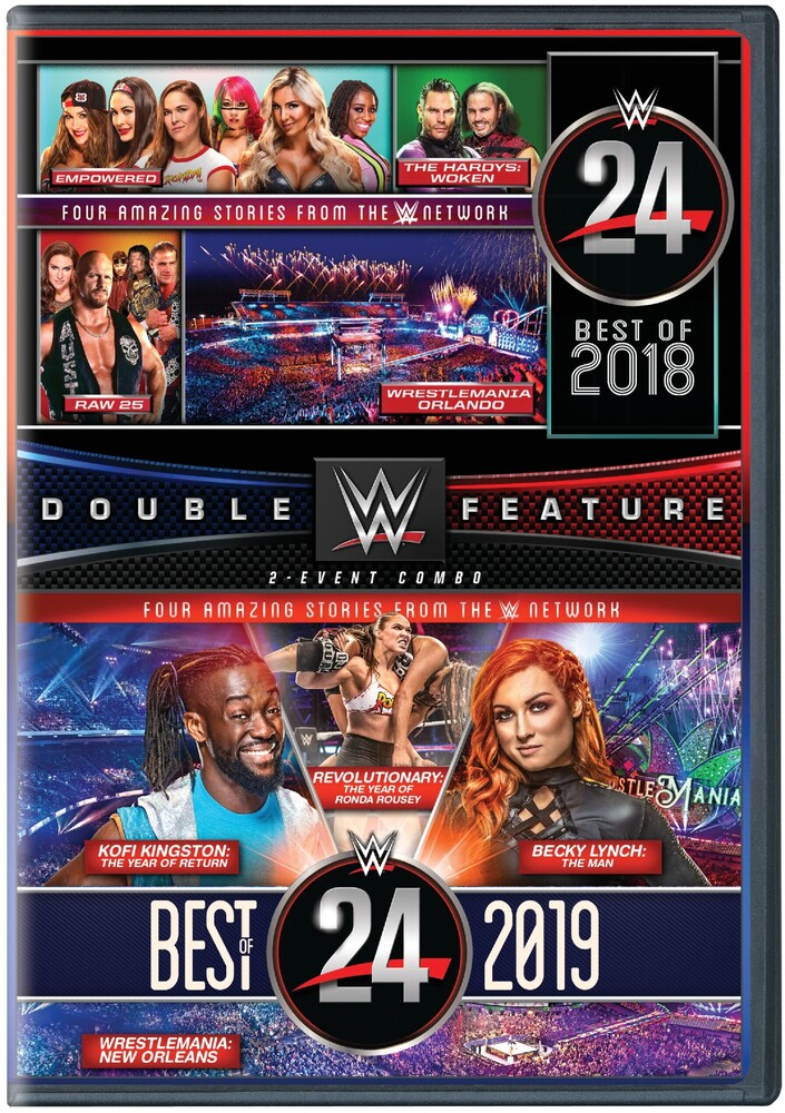 WWE24: Best of 2018 & 2019 - Wwe24: Best Of 2018 & 2019 (2pc) / (2pk Amar)