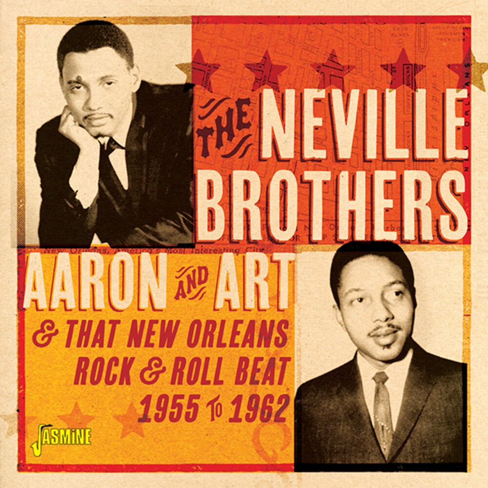 Neville Brothers - Aaron & Art & That New Orleans Rock & Roll Beat