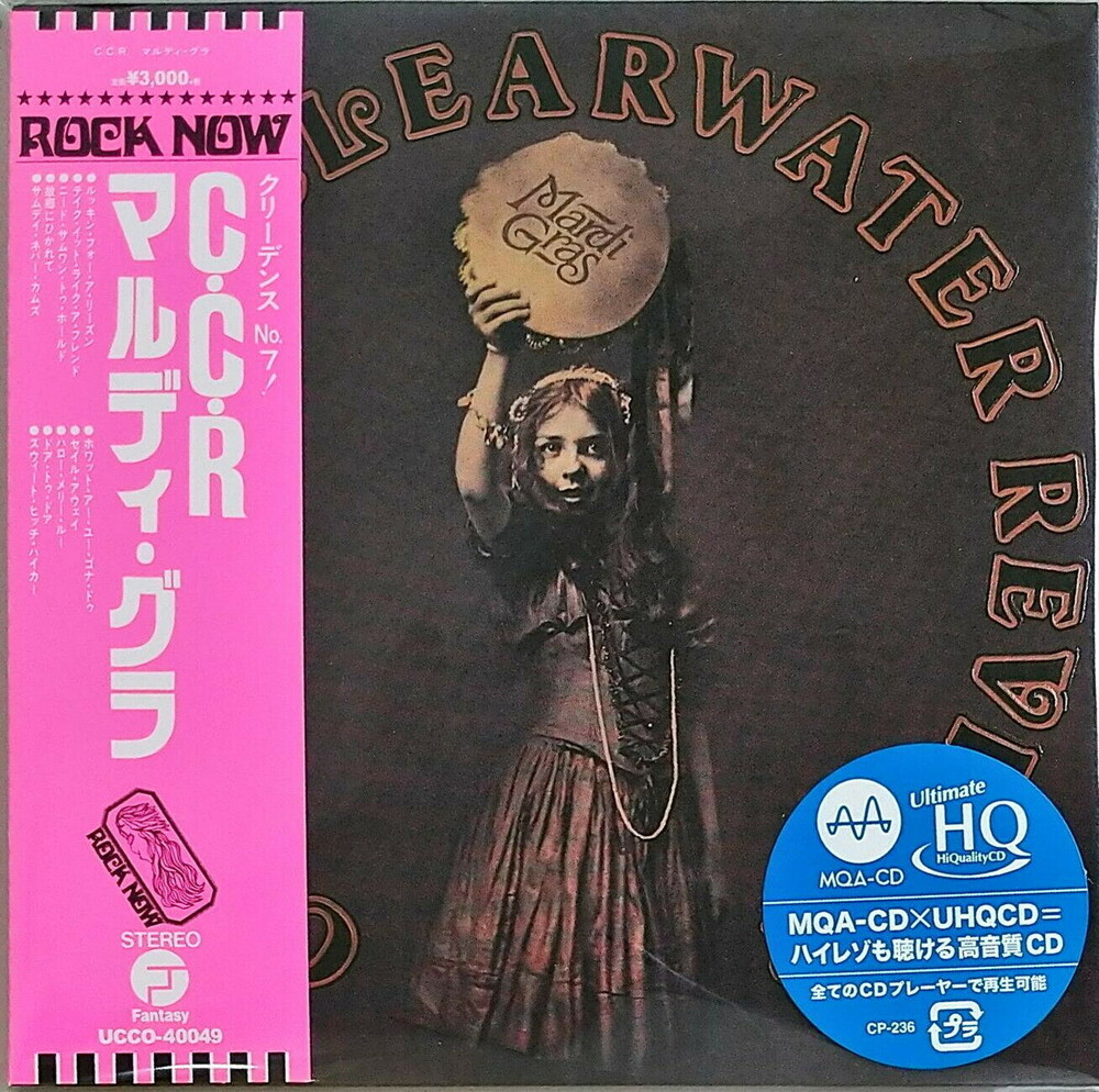 Ccr Creedence Clearwater Revival - Mardi Gras (Jmlp) [Limited Edition] (Hqcd) (Jpn)