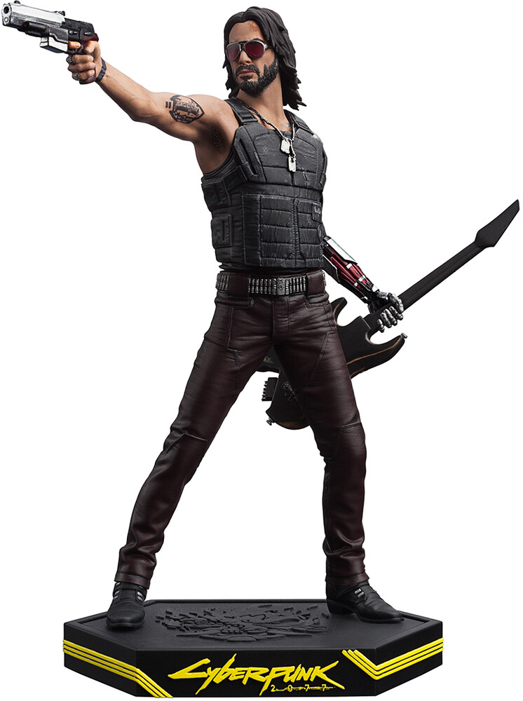 Cyberpunk 2077: Johnny Silverhand Figure - Cyberpunk 2077: Johnny Silverhand Figure