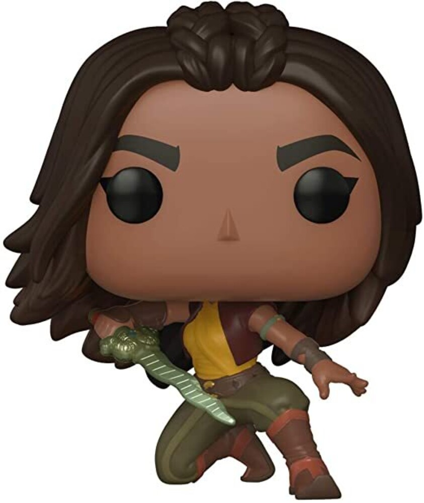 - FUNKO POP! DISNEY: Raya and the Last Dragon - Raya (Warrior Pose)
