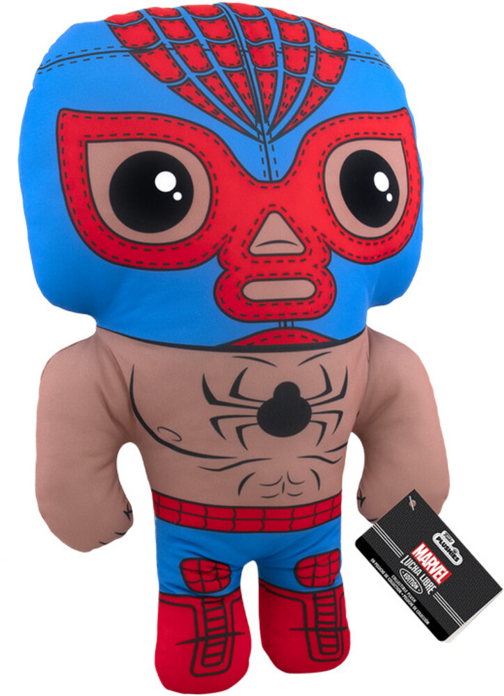 Funko Pop! Plush: - FUNKO POP! PLUSH: Marvel Luchadores- Spider-Man 17.5