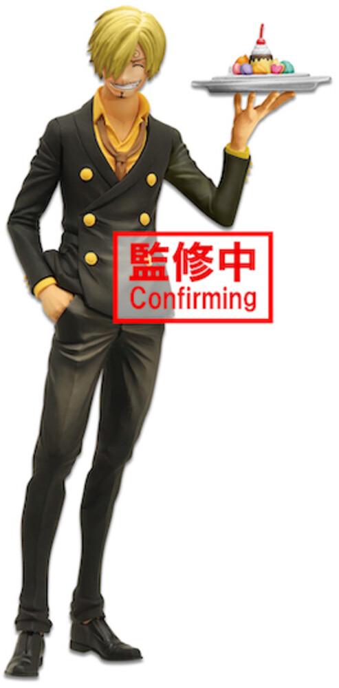 Banpresto - BanPresto - One Piece Sanji Grandista nero Figure