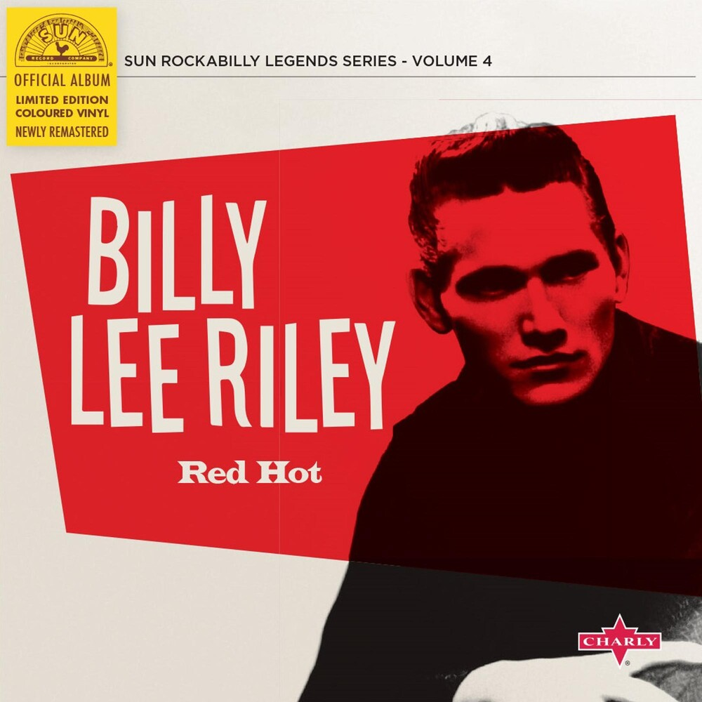 Riley, Billy Lee - Red Hot (10in)
