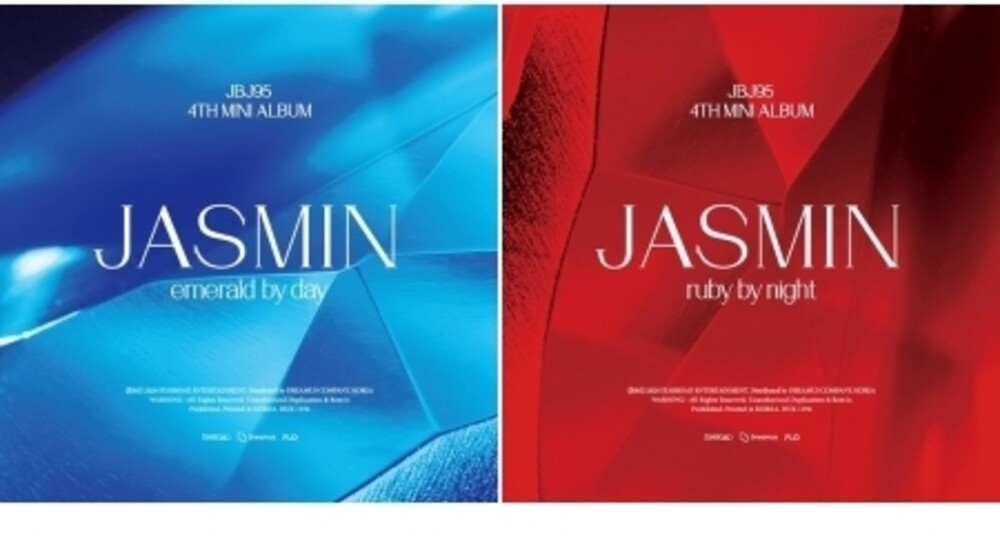 Jbj95 - Jasmin (Random Cover) (incl. 72pg Photobbook, Postcard, Mini-Poster,Member Photocard + Group Photocard)