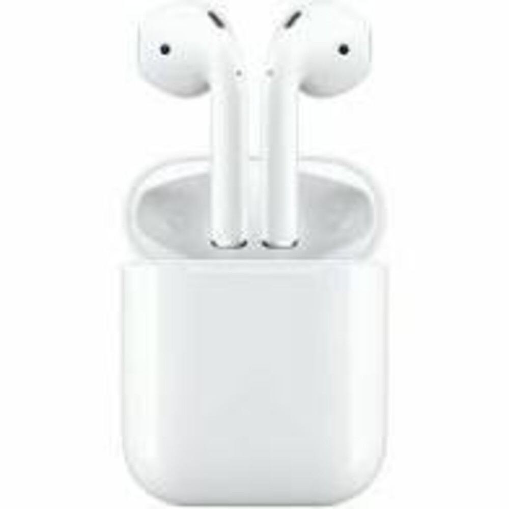 Apple Airpods 2Gen Bt Earphones Chrgng Case White - Apple Airpods 2nd Gen. Bluetooth Wireless Earphones With Charging Case(White)