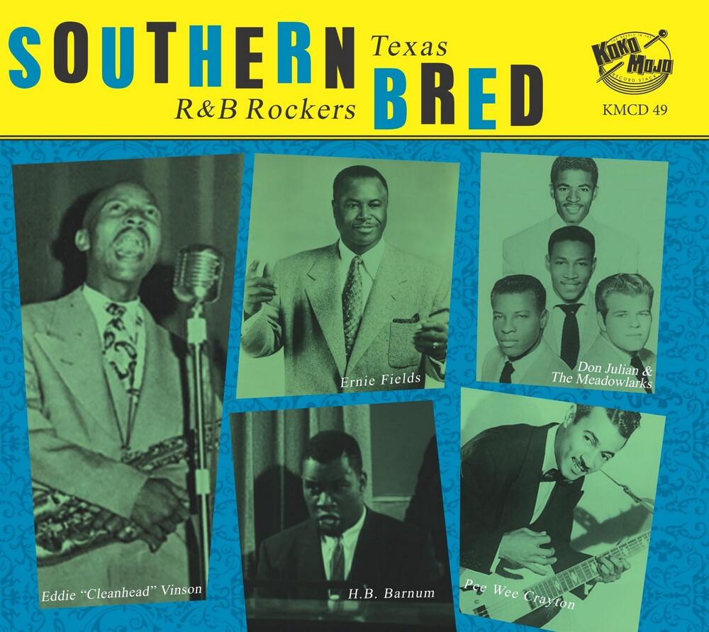 Southern Bred 11 Texas R&B Rockers / Various - Southern Bred: 11 Texas R&b Rockers (Various Artists)