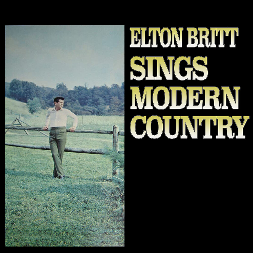 Elton Britt - Sings Modern Country