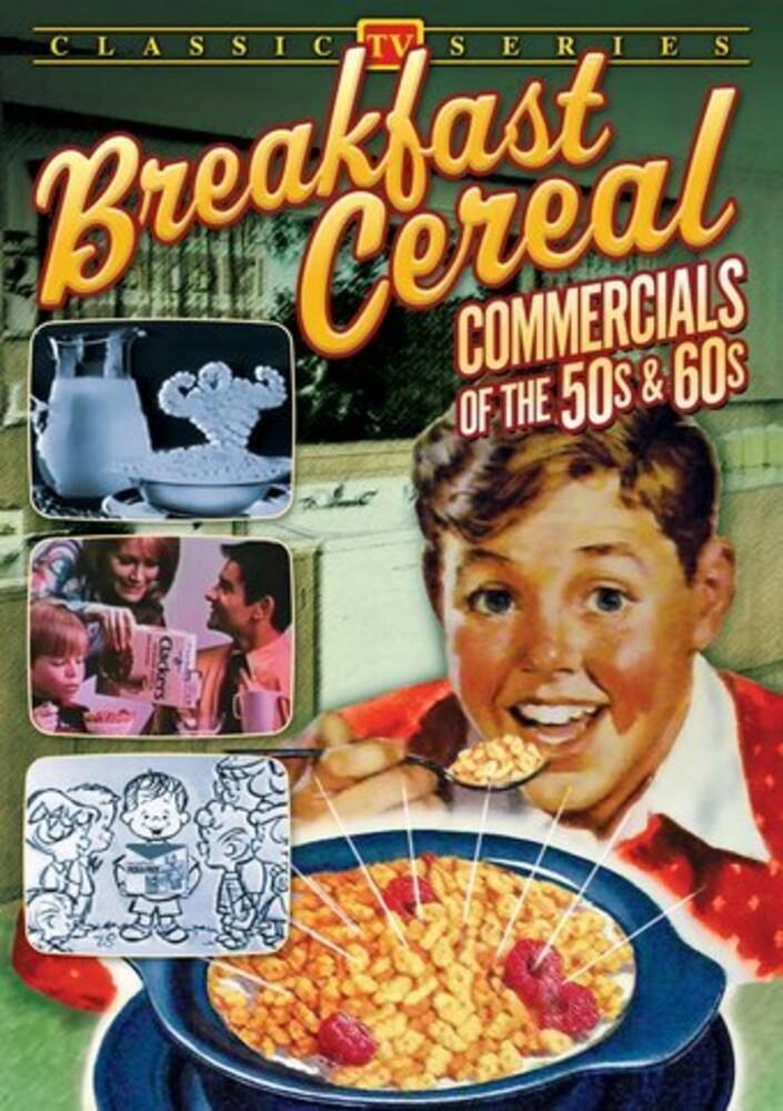 Breakfast Cereal Commercials of the 50s & 60s - Breakfast Cereal Commercials Of The 50s & 60s