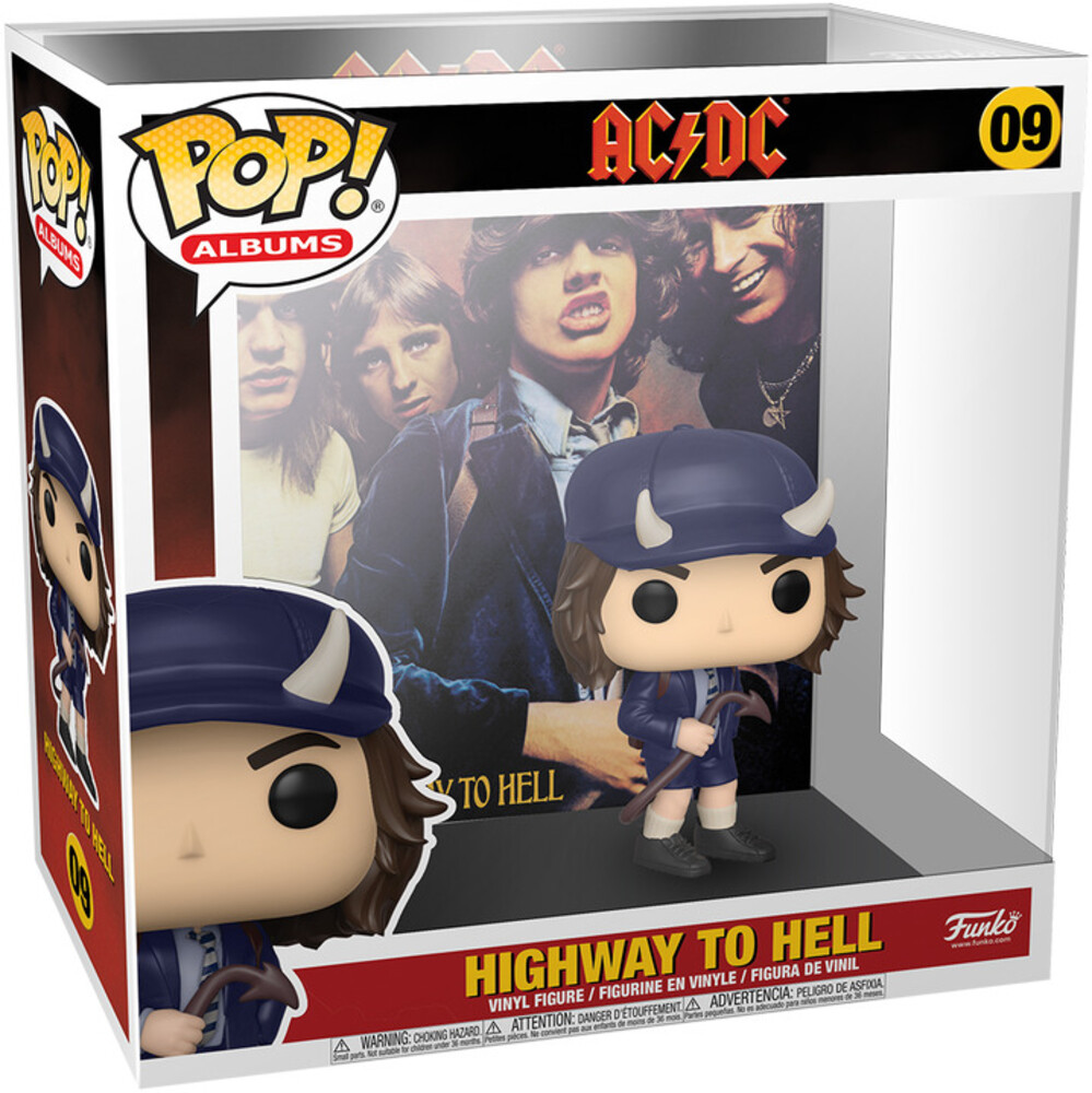 Funko Pop! Albums: - FUNKO POP! ALBUMS: AC/DC - Highway to Hell