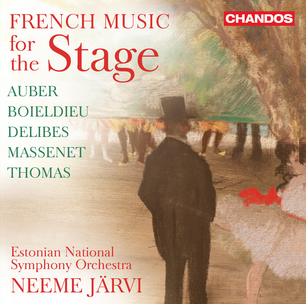 Auber / Estonian National Symphony Orch / Jarvi - French Music For The Stage