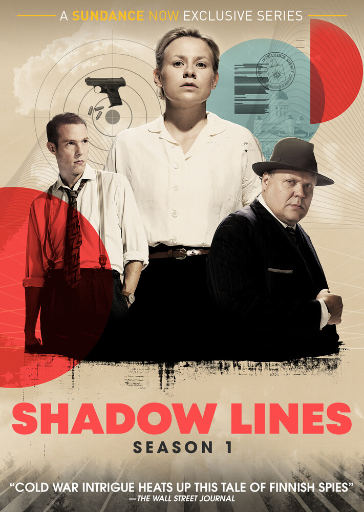 - Shadow Lines Season 1 (Aka Nyrkki) Dvd (3pc)