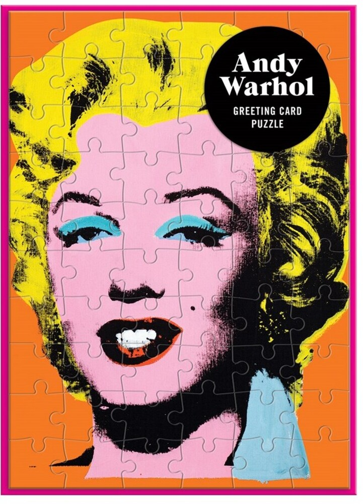 - Andy Warhol Marilyn Greeting Card 60 Piece Puzzle