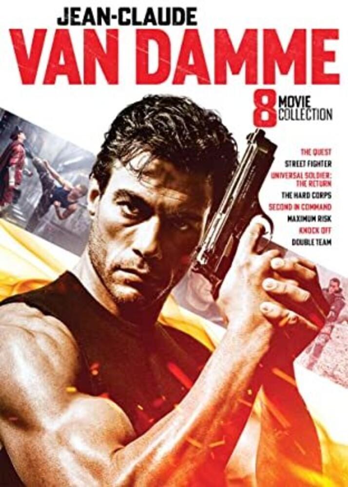 - Jean-Claude Van Damme Collection - 8 Movie Set Dvd