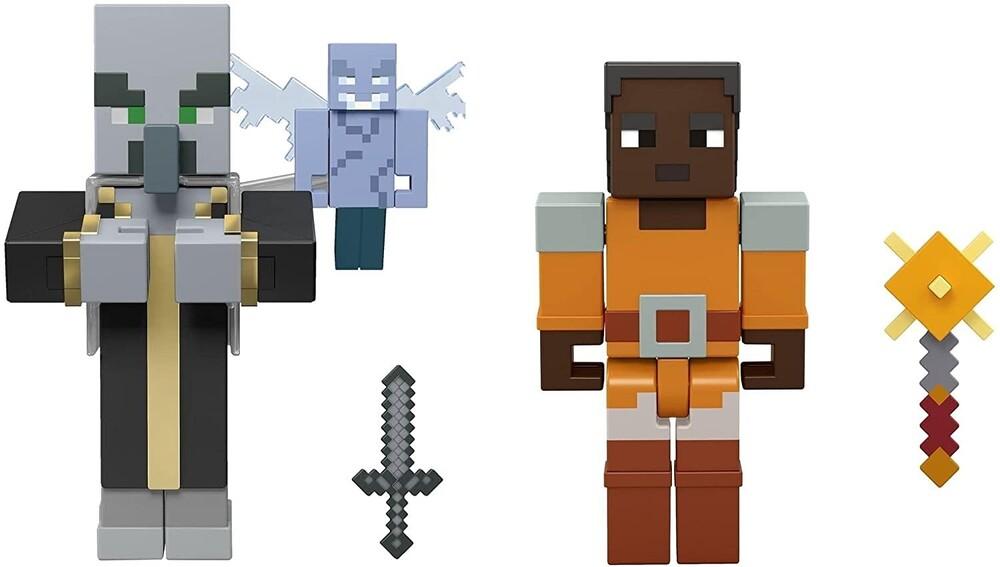Minecraft - Mattel Collectible - Minecraft Dungeons 3.25 2-Pack #2
