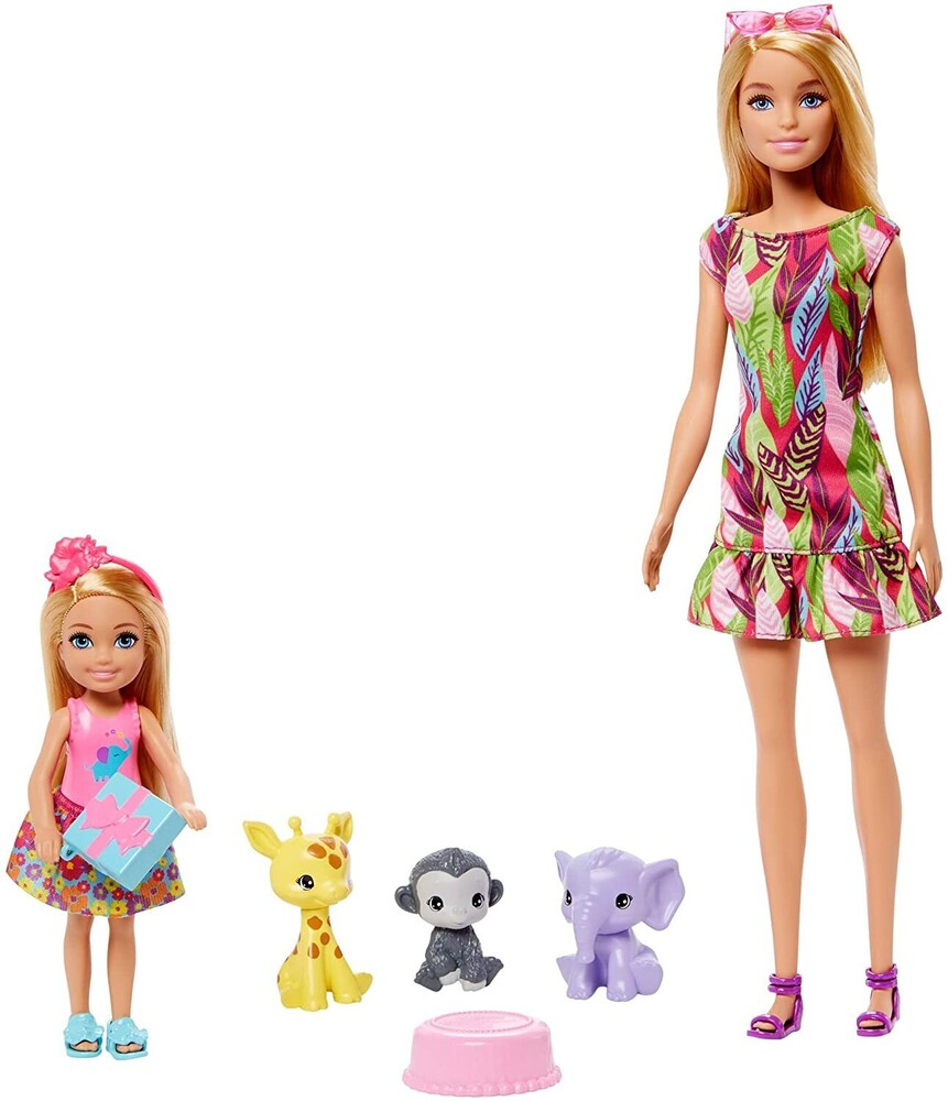 Barbie - Mattel - Barbie Chelsea The Lost Birthday Pets and Accessories