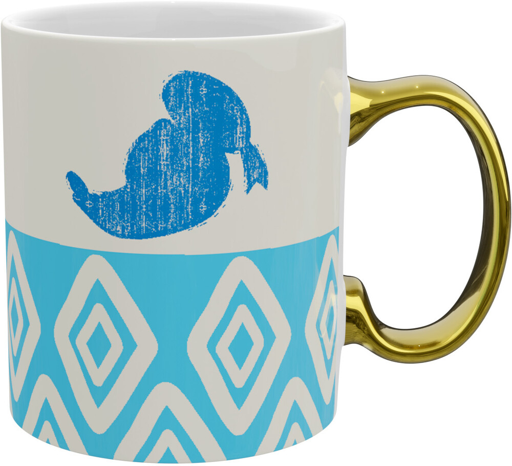 - Disney Donald Gold Handle Mug (11 Oz) (Mug)