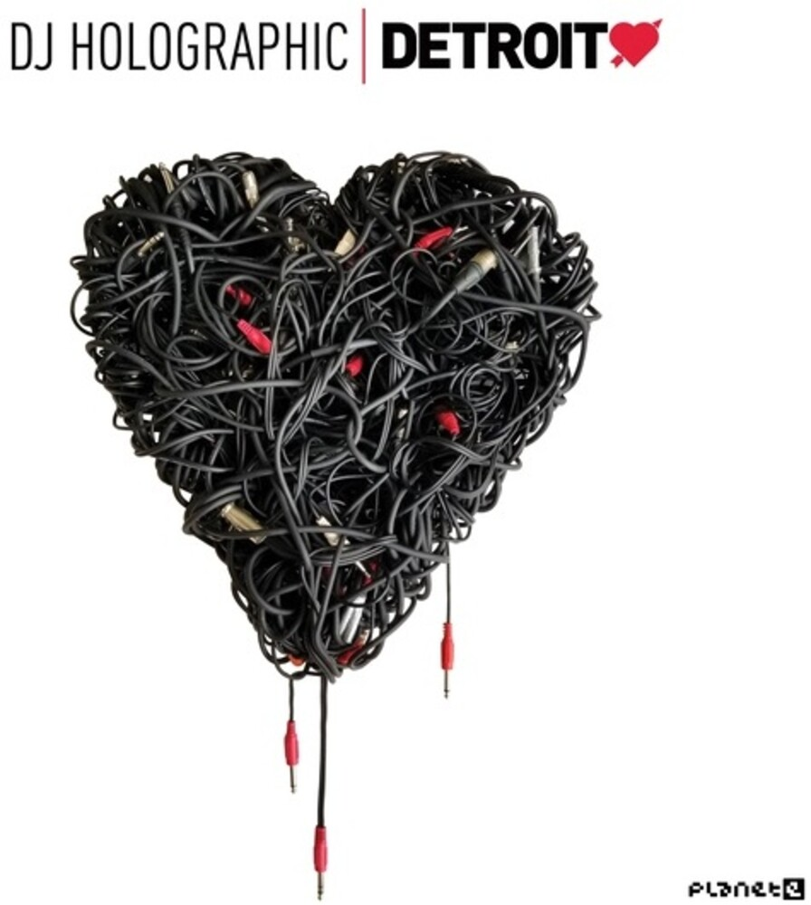 Dj Holographic - Detroit Love 5 (W/Cd) (2pk)