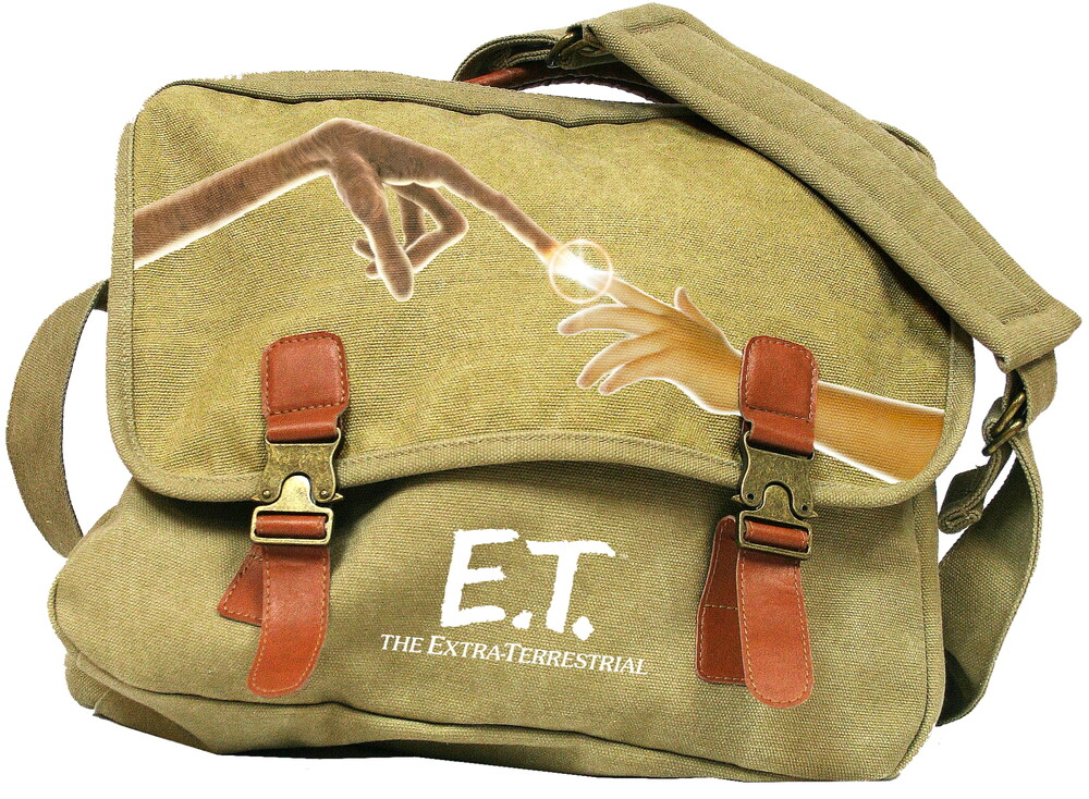 - E.T. The Extra-Terrestrial Logo Canvas Mailbag