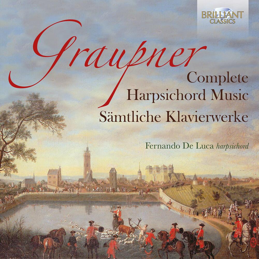 Graupner / Luca - Complete Harpsichord Music