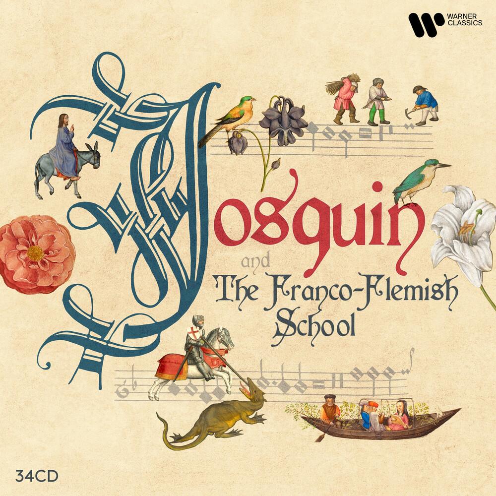Ensemble Gilles Binchois - Josquin & the Franco-Flemish School (34 CD)