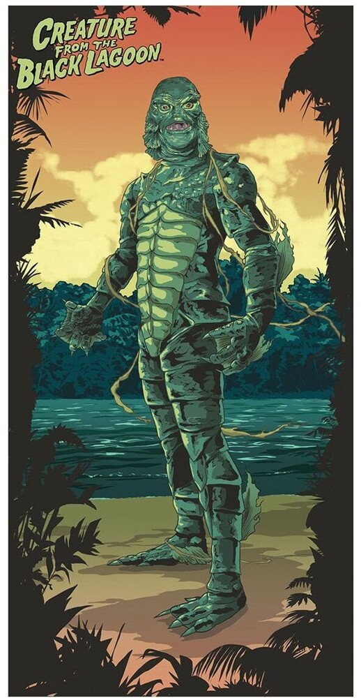 Creature From the Black Lagoon Beach / Bath Towel - Creature From The Black Lagoon Beach / Bath Towel