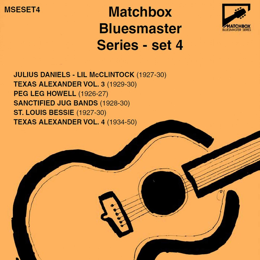 Matchbox Bluesmaster Serie 4 / Various (Box) - Matchbox Bluesmaster Serie 4 (Box)