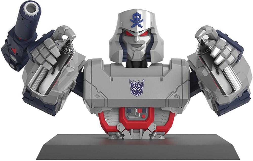 - Transformers X Quiccs Megatron Ltd Ed Vinyl Statue