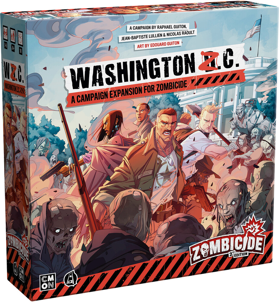 Zombicide 2nd Ed Washington Z.C. Exp for Zombicide - Zombicide 2nd Ed Washington Z.C. Exp For Zombicide