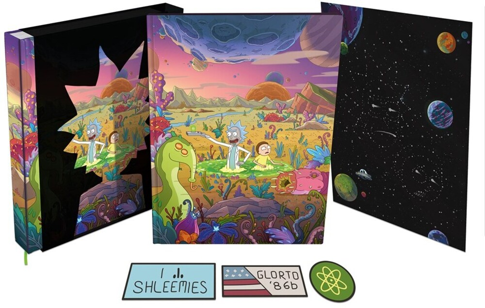 Jeremy Gilfor - Art Of Rick And Morty Volume 2 Deluxe Edition