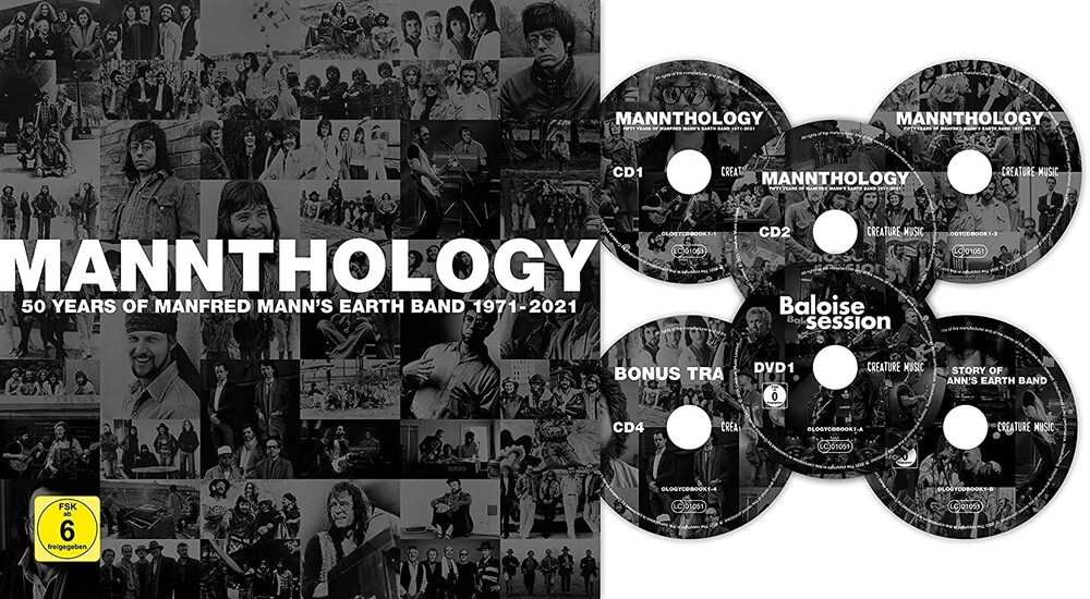 Manfred Mann's Earth Band - Mannthology (Deluxe Hard Back Book +Dvd) (W/Book)